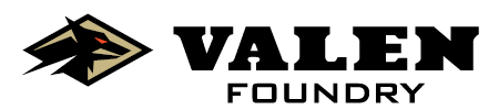 Valen Foundry Black Logo